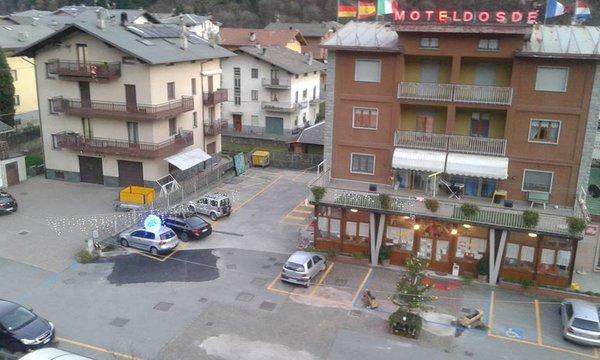 Il parcheggio Albergo Motel Dosdè