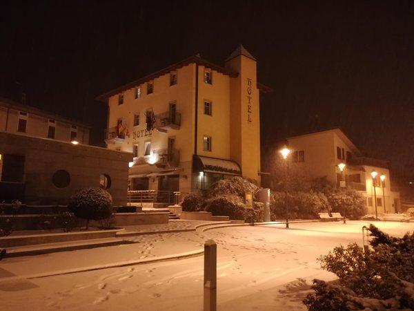 Photo exteriors in winter Le Corti