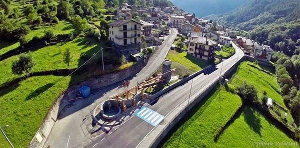 La posizione Hotel Mirage Lanzada (Sondrio - Valmalenco)