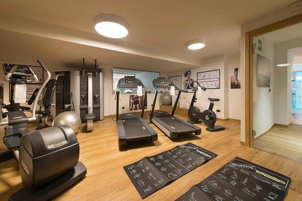 Foto vom Fitness-Bereich Hotel Baita Montana