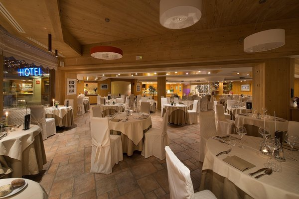 The restaurant Livigno Baita Montana
