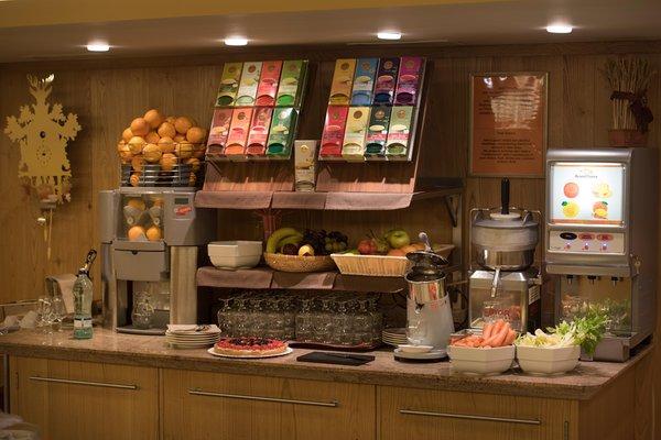 La colazione Hotel Baita Montana