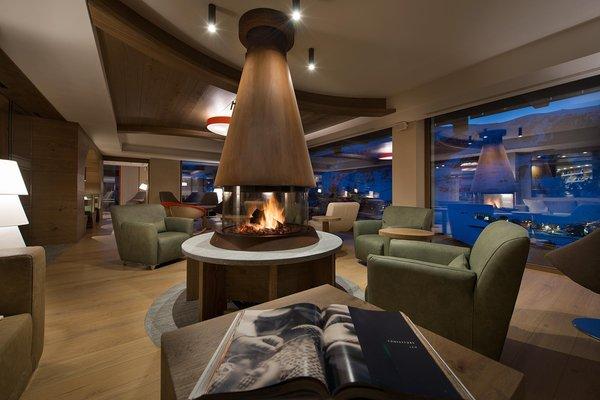 The common areas Hotel Baita Montana