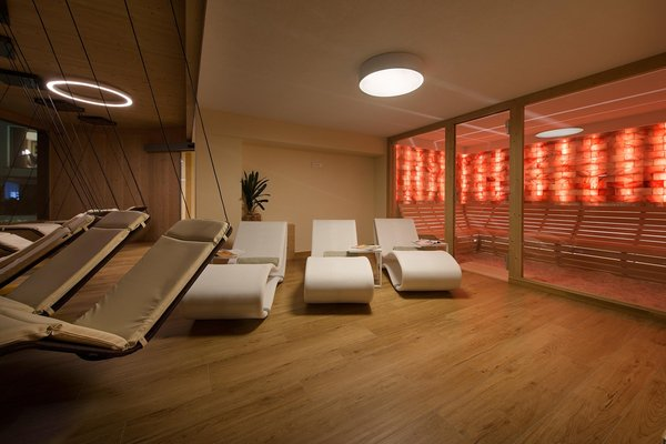Photo of the wellness area Hotel Baita Montana