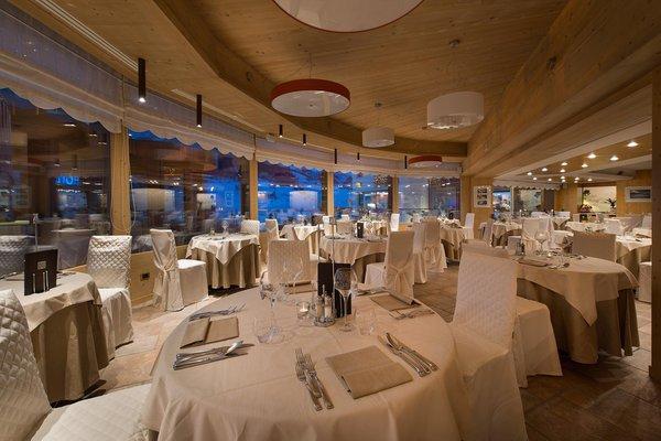 The restaurant Livigno Baita Montana