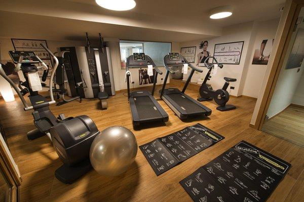 Foto della zona fitness Hotel Baita Montana