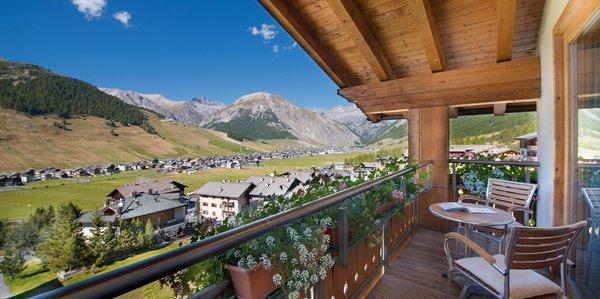 Foto del balcone Baita Montana