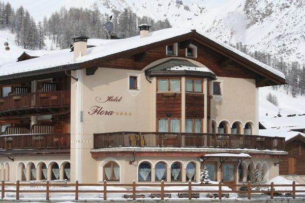 Foto invernale di presentazione Flora - Hotel 4 stelle