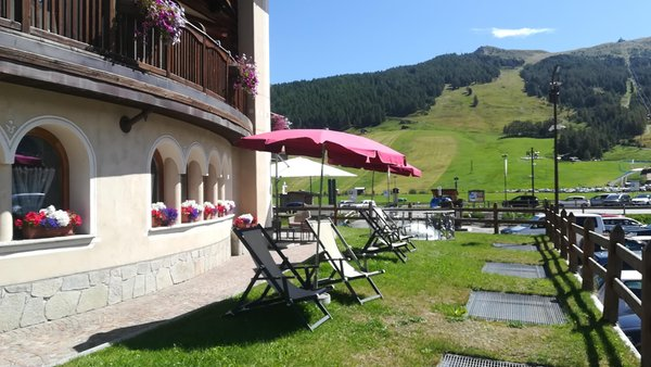 Photo of the garden Livigno