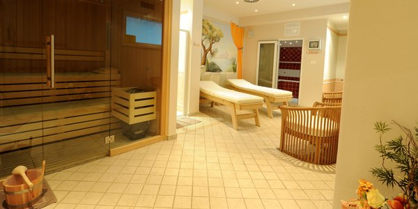 Photo of the wellness area Hotel Flora