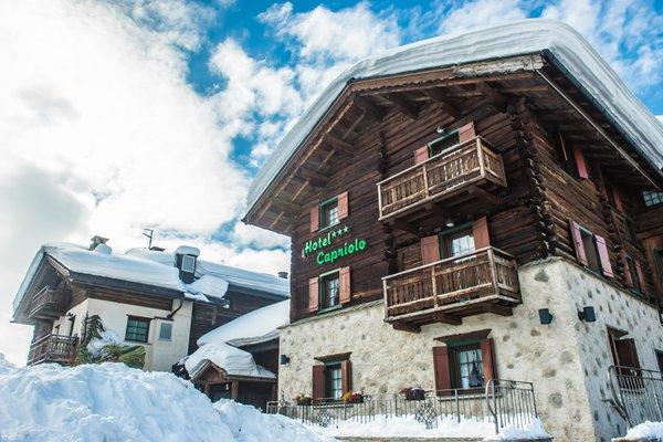 Foto invernale di presentazione Hotel Capriolo
