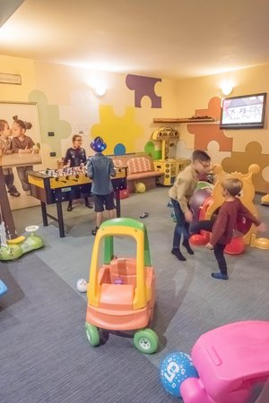 The children's play room Hotel Capriolo