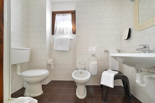 Photo of the bathroom Hotel Margherita