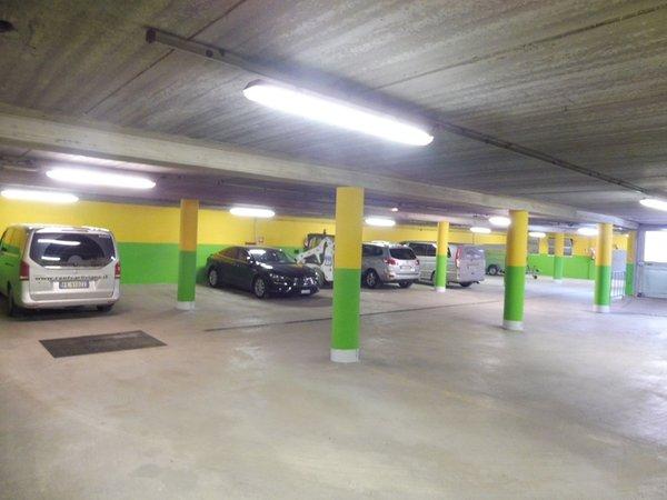 Il parcheggio Hotel Valeria