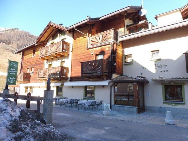 Foto esterno in inverno Hotel Valeria