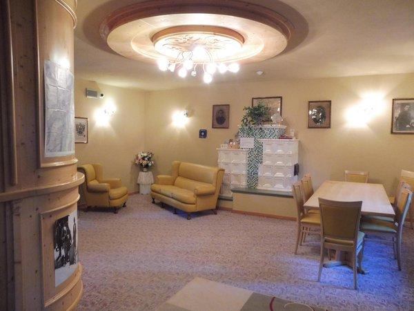 La zona giorno Hotel Valeria