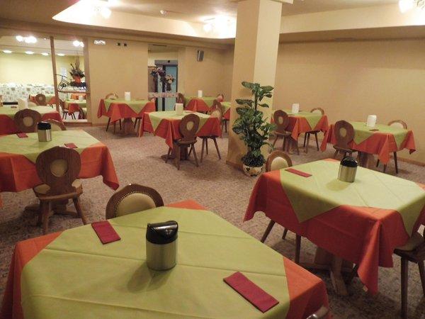 Il ristorante Livigno Hotel Valeria
