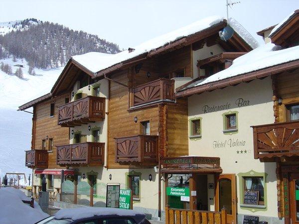 Foto invernale di presentazione Hotel Valeria