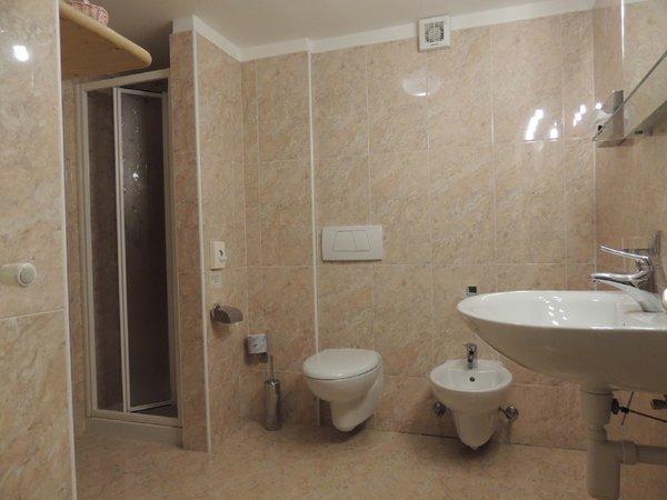 Foto del bagno Hotel Andossi