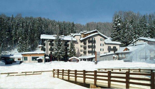Foto invernale di presentazione Andossi - Hotel 4 stelle