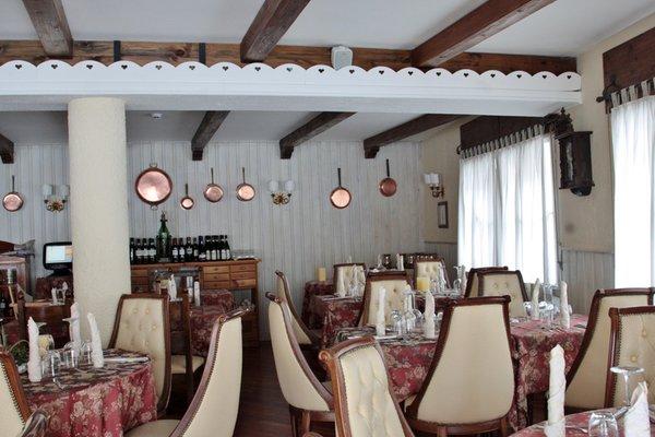 Il ristorante Madesimo (Valchiavenna) La Meridiana