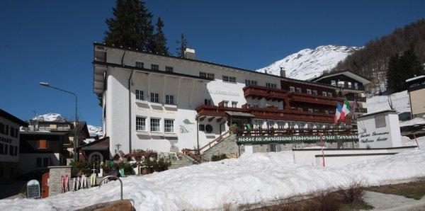 Foto invernale di presentazione La Meridiana - Hotel 3 stelle
