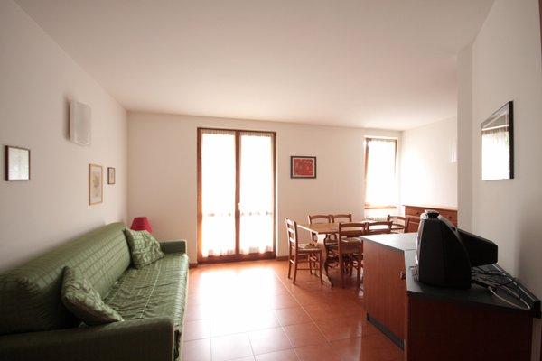 The living area La Primula - Residence 2 stars