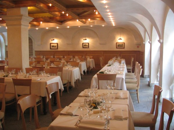 The restaurant Morbegno Margna