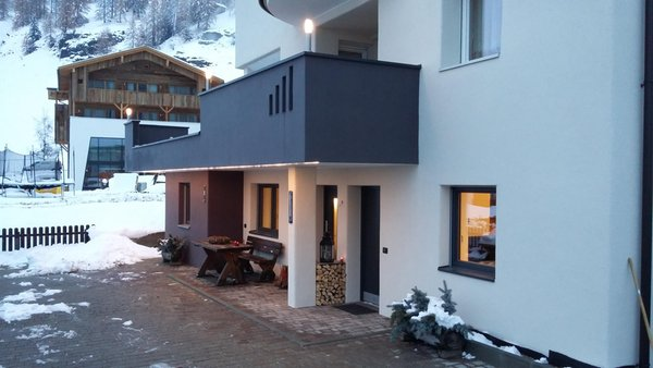 Photo exteriors in winter Villa Fraina