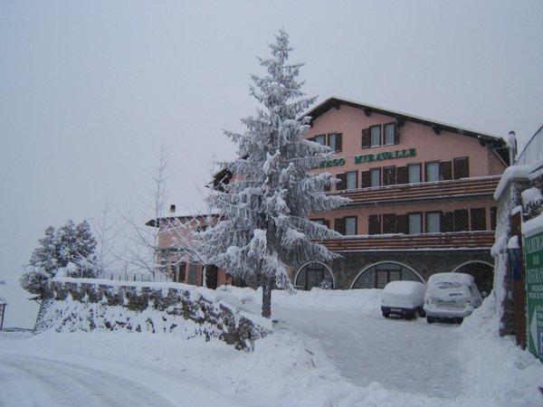 Winter presentation photo Hotel Miravalle
