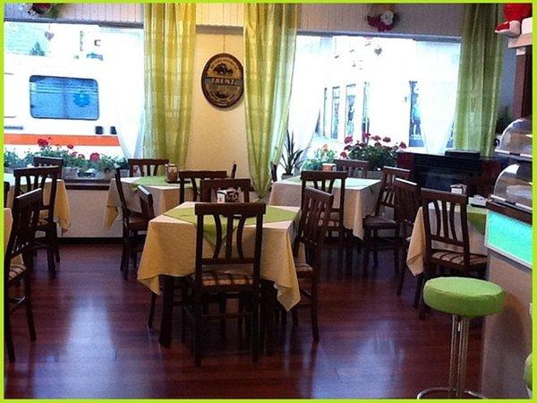 The restaurant Tirano Meublé Stelvio