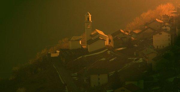 Panoramic view Tirano