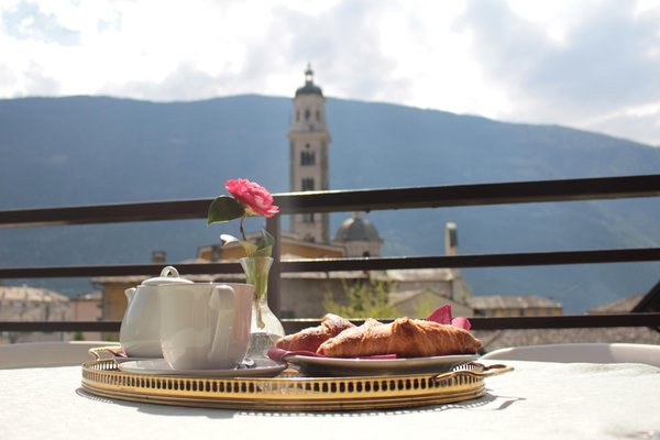 The breakfast Hotel La Rotonda