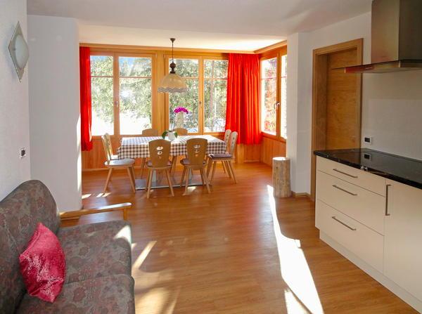 Der Wohnraum Declara - Ferienwohnungen 2 Sonnen