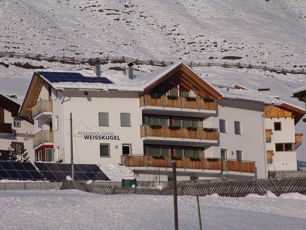 Foto invernale di presentazione Weisskugel - Garni + Residence 3 stelle