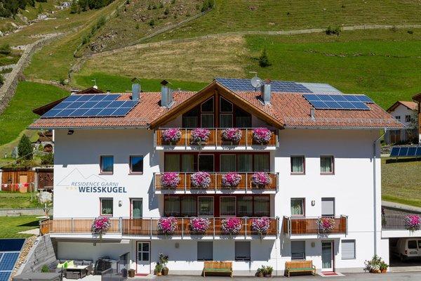 Foto estiva di presentazione Weisskugel - Garni + Residence 3 stelle