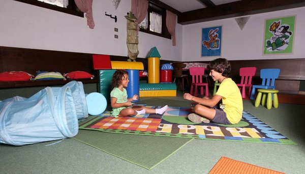 La sala giochi Hotel Del Cardo