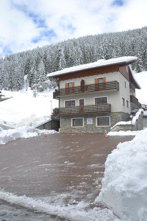 Photo exteriors in winter Rosalpina