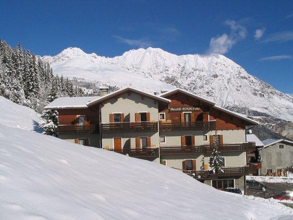 Foto invernale di presentazione Rosalpina - Meublé 3 stelle