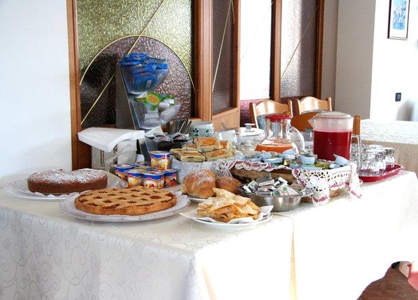 La colazione Rosalpina - Meublé 3 stelle