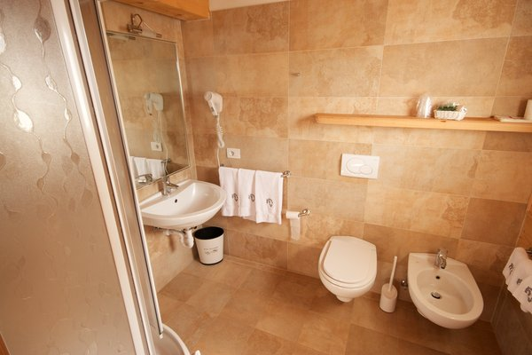 Foto del bagno Hotel Vallechiara