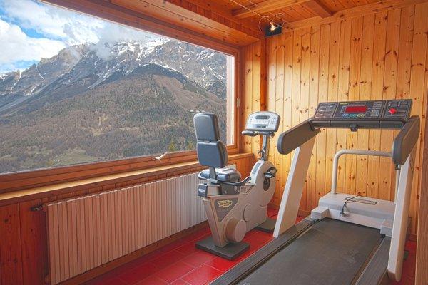 Foto della zona fitness Hotel Vallechiara