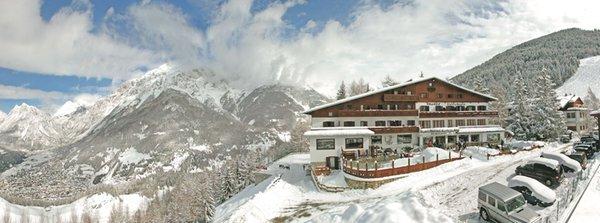 Foto invernale di presentazione Hotel Vallechiara