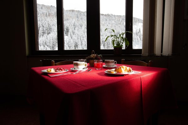 The breakfast Adler Rooms & Mountain Apartments