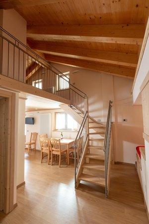 La zona giorno Adler Rooms & Mountain Apartments