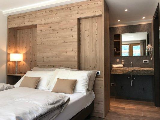 Foto vom Zimmer Hotel Le cime