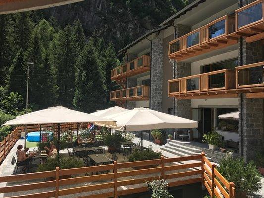 Das Restaurant Val Masino (Morbegno - Bassa Valle) Le cime