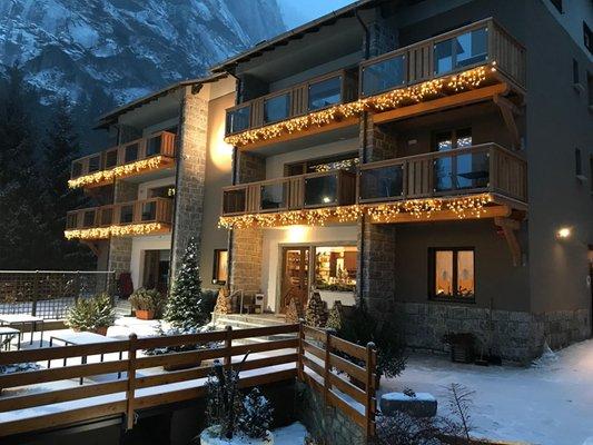 Winter Präsentationsbild Hotel Le cime