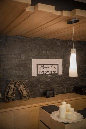 Die Gemeinschaftsräume Residence Alpin Dolomites RTA