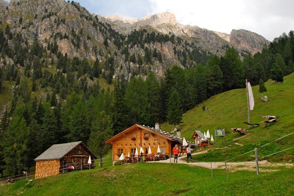 Summer presentation photo Alpine farm Kaserill Alm